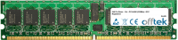 240 Pin Dimm - 1.8v - PC2-4200 (533Mhz) - ECC Con Registro 1GB Módulo