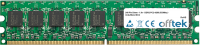 240 Pin Dimm - 1.8v - DDR2 PC2-4200 (533Mhz) -   Sin Búfer ECC 256MB Módulo