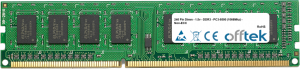 240 Pin Dimm - 1.5v - DDR3 - PC3-8500 (1066Mhz) - Non-ECC 2GB Módulo