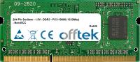 204 Pin Sodimm - 1.5V - DDR3 - PC3-10600 (1333Mhz) - Non-ECC 1GB Módulo