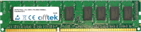 240 Pin Dimm - 1.5v - DDR3 - PC3-8500 (1066Mhz) - Sin Búfer ECC 2GB Módulo