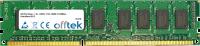240 Pin Dimm - 1.5v - DDR3 - PC3-10600 (1333Mhz) - Sin Búfer ECC  2GB Módulo
