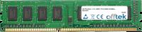 240 Pin Dimm - 1.5v - DDR3 - PC3-10600 (1333Mhz) - Non-ECC 4GB Módulo