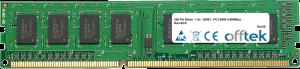 240 Pin Dimm - 1.5v - DDR3 - PC3-8500 (1066Mhz) - Non-ECC 4GB Módulo
