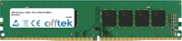 288 Pin Dimm - DDR4 - PC4-17000 (2133Mhz) - Non-ECC 16GB Módulo