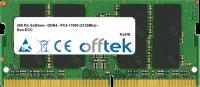 260 Pin SoDimm - DDR4 - PC4-17000 (2133Mhz) - Non-ECC 4GB Módulo