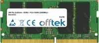 260 Pin SoDimm - DDR4 - PC4-19200 (2400Mhz) - Non-ECC  16GB Módulo