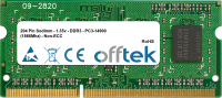 204 Pin Sodimm - 1.35v - DDR3 - PC3-14900 (1866Mhz) - Non-ECC   4GB Módulo