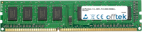 240 Pin Dimm - 1.5v - DDR3 - PC3-14900 (1866Mhz) - Non-ECC 4GB Módulo