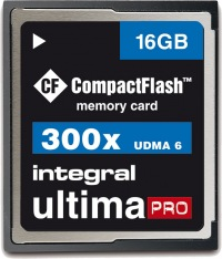 Integral Ultima-Pro Compact Flash 16GB Tarjeta (300x)