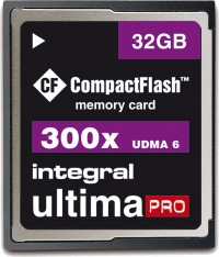 Integral Ultima-Pro Compact Flash 32GB Tarjeta