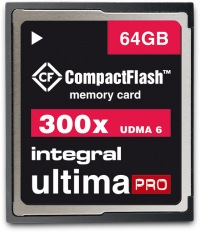 Integral Ultima-Pro Compact Flash 300X 64GB Tarjeta