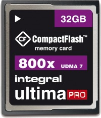 Integral Ultima-Pro Compact Flash 800X 32GB Tarjeta