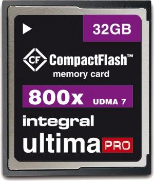 Integral Ultima-Pro Compact Flash 800X 32GB Tarjeta