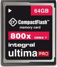 Integral Ultima-Pro Compact Flash 800X 64GB Tarjeta