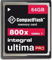 Integral Ultima-Pro Compact Flash 800X 64GB Tarjeta
