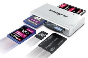 Integral High Speed USB 2.0 - 19 In 1 Tarjeta Reader Tarjeta Reader