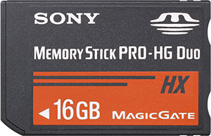 Sony Memory Stick PRO-HG Duo HX 16GB Stick