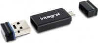 Integral USB OTG Adaptador Con Fusion 2.0 Unidad 16GB