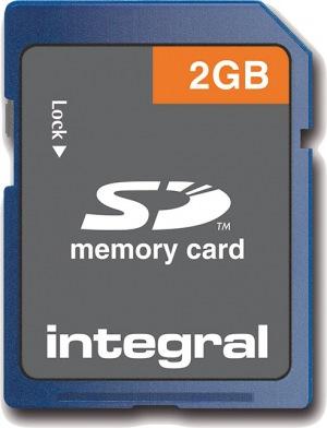 Integral Seguro Digital/SD Tarjeta 2GB Tarjeta