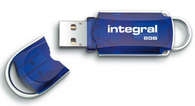 Integral Courier Pen Unidad USB 8GB (34x Speed)