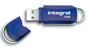 Integral Courier Pen Unidad USB 4GB (34x Speed)