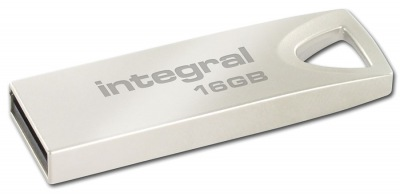 Integral Metal ARC USB 2.0 Flash Unidad 16GB