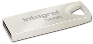 Integral Metal ARC USB 2.0 Flash Unidad 32GB