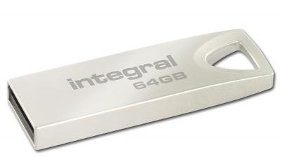Integral Metal ARC USB 2.0 Flash Unidad 64GB