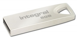 Integral Metal ARC USB 2.0 Flash Unidad 8GB