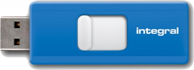 Integral Slide USB Unidad 16GB (Blue)