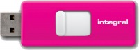 Integral Slide USB Unidad 32GB (Pink)