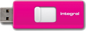 Integral Slide USB Unidad 8GB (Pink)