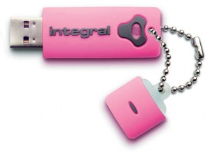 Integral Splash Unidad 16GB Unidad (Pink)