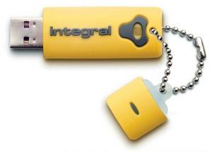 Integral Splash Unidad 8GB Unidad (Yellow)