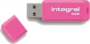Integral Neon USB Unidad 8GB Unidad (Pink)
