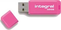 Integral Neon USB Unidad 32GB Unidad (Pink)