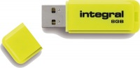 Integral Neon USB Unidad 8GB Unidad (Yellow)