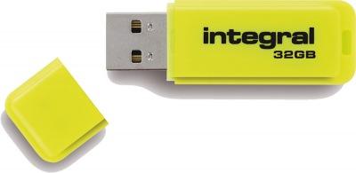 Integral Neon USB Unidad 32GB Unidad (Yellow)