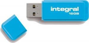 Integral Neon USB Unidad 16GB Unidad (Blue)