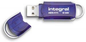 Integral Courier Unidad Encriptado USB - (FIPS 197) 8GB Unidad