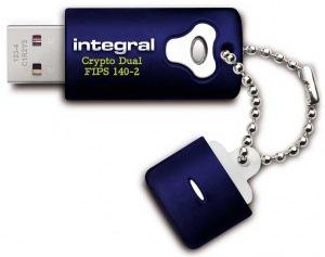 Integral Crypto Dual FIPS 140-2 Encriptado USB Unidad 8GB