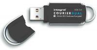 Integral Courier Dual FIPS 197 Encriptado USB 3.0 Unidad 8GB