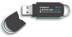 Integral Courier Dual FIPS 197 Encriptado USB 3.0 Unidad 16GB