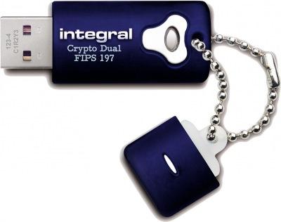 Integral Crypro Dual Unidad Encriptado USB - (FIPS 197) 8GB Unidad