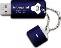 Integral Crypro Dual Unidad Encriptado USB - (FIPS 197) 16GB Unidad
