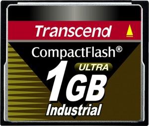 Transcend Industrial Ultra Compact Flash 1GB Tarjeta (100x)