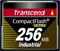Transcend Industrial Ultra Compact Flash 256MB Tarjeta (100x)