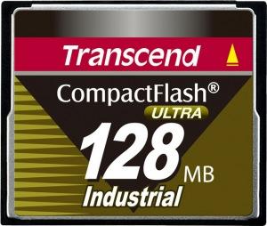 Transcend Industrial Ultra Compact Flash 128MB Tarjeta (100x)