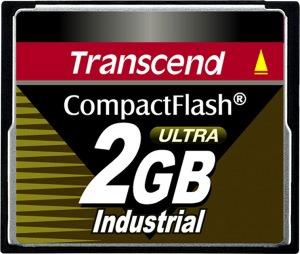 Transcend Industrial Ultra Compact Flash 2GB Tarjeta (100x)